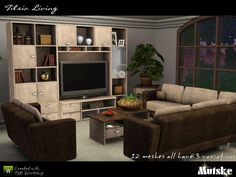 Tilsia Livingroom By Mutske Thesimsresource Downloads