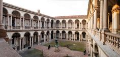 MILANO  L'Accademia di Brera.