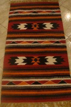 100% Wool Handloomed Handmade Egyptian Tirbal Kilim Rug 28x61  Inch:Amazon:Kitchen U0026