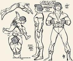Samson - Alex Toth