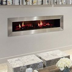 best wall mount electric fireplace - Garibaldi Heating 50 inch Electric Wall Mounted Fireplace