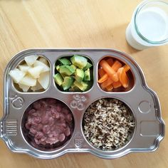 Vegan + Gluten Free Toddler Meals by MiniHavensMeal on Instagram