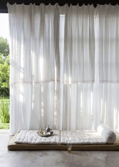 gauzy curtains