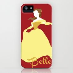 Belle+from+Beauty+and+the+Beast+Disney+iPhone+&+iPod+Case+by+Alice+Wieckowska+-+$35.00