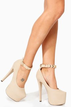 Nude heels Shoes heels and Heels on Pinterest