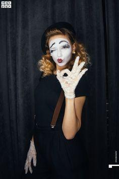 Mime Makeup, Halloween Face Makeup, Profile Photo, Clowns, Goth, Joker, Photos, Style, Fashion