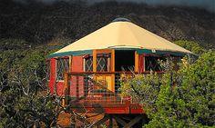 Tropical yurt (© Yurts of Hawaii)