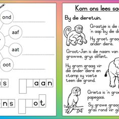 Teaching Resources for South African Teachers School Resources, Teaching Resources, Teaching Ideas, Afrikaans Language, Classroom Layout, Teaching Materials, Kids Education, Pre School, Classroom Management
