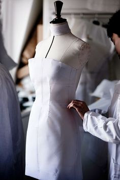 Inside the Fashion Atelier - haute couture fashion; dressmaking; sewing; fashion studio
