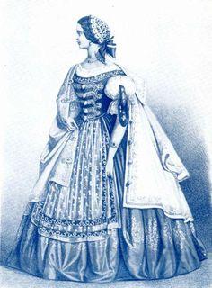 Diszmagyar-Nemzeti viselet