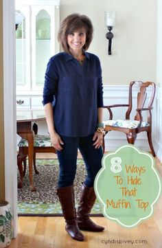 8 Ways to Hide That Muffin Top - Walking in Grace and Beauty