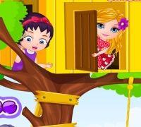Bebek Barbie Ağaç Ev
