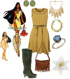 """Pocahontas"" by ethemuse on Polyvore"