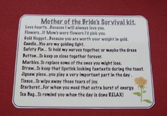 Pinterest groom survival kits survival kits and survival kit gifts