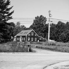 """In the distance  #exploring #Maine #myMaine #wandering #exploreusa #exploreMaine #exploreAmerica #summer #August #bnw #blackandwhite #daylight #roadside #ontheroad"" Photo taken by @ndoocy on Instagram, pinned via the InstaPin iOS App! http://www.instapinapp.com (09/09/2015)"