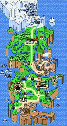 Game of Thrones Super Mario Map - Imgur