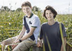 Princes Felix et Nikolai, 14 et 17 ans, nés en 2002 et 1999
