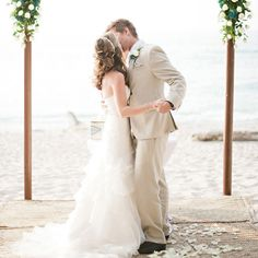 Besos From Punta Mita A Mexican-Themed Beach Wedding ❤ liked on Polyvore featuring wedding