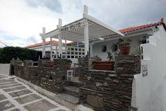 Greece, Pergola, Villa, Outdoor Structures, Island, Mansions, House Styles, Home Decor, Block Island