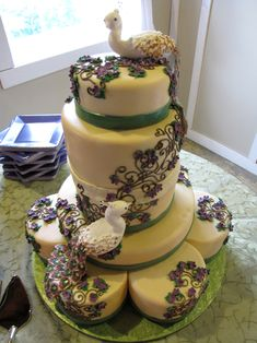 Wow. What an amazing cake.