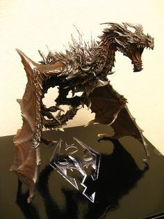 IMG_0964 - Alduin Dragon from... #skyrim #dawnguard #hearthfire