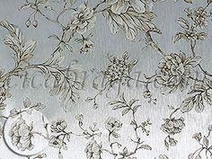 Ciça Braga - Papel de parede   Papel de Parede Vinílico Bright Wall (Americano) - Floral (Bege Claro Acinzentado/ Prata) - COLA GRÁTIS  - Combinação com BGW-