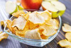 #receta #singluten chips de manzana