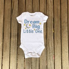 24cede053 Dream Big, Little One, Coming Home Outfit, Hospital Outfit, Newborn Outfit,  Newborn, Boy Outfit, Girl Outfit, Take Home Outfit, Baby Shower