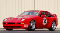 Red 1992 Porsche 968 Turbo RS, chassis WPOZZZ96ZNS820065    One of my all time favorite Porsche models