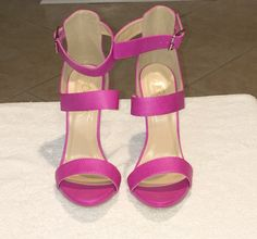 Pinky Strappy Sandals