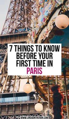 7 Things To Know Before Your First Time In Paris – Linda On The Run 7 Dinge, die Sie vor Ihrem ersten Aufenthalt in Paris wissen sollten – Linda On The Run European Travel Tips Paris Tips, Paris Travel Guide, Europe Travel Tips, Packing Tips For Travel, Travel Guides, Travel Destinations, Travel Goals, Traveling Tips, Time Travel