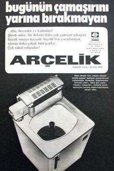 OĞUZ TOPOĞLU : Arçelik merdaneli çamaşır makinesi,1975 nostaljik ...