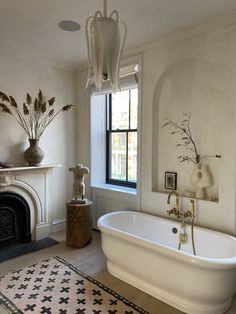The Best Paint Color in Every Room of Athena Calderone's Brooklyn Home Ritual Bath, Best Paint Colors, Home Reno, Bathroom Furniture, Your Space, Home Interior Design, Cottages, French Country, Townhouse