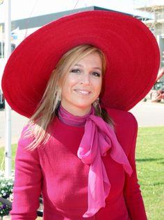 Princess Máxima, April 24, 2009 in Fabienne Delvigne