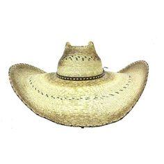 "Hat Biz Cowboy Hat Tom Mix 7"" Brim Straw Palm Cowboy Hat Great Party Hat Mens Cowboy Hats, Summer Hats, Party Hats, Toms, Palm, Fashion, Sombreros, Summer Time, Moda"