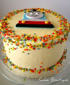 Thomas the train birthday cake!!