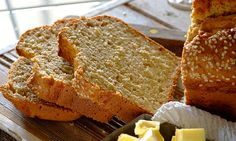 Need a healthy bread recipe? Try this wholewheat soda bread recipe for a delicious baked treat today. Stork – love to bake. Healthy Bread Recipes, Banting Recipes, Soda Bread, Bread Board, Stork, Yummy Snacks, Banana Bread, Tasty, Treats