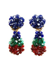COPPOLA E TOPPO Drop Earrings Primary Colours