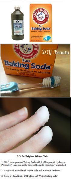 DIY for Whiter Nails
