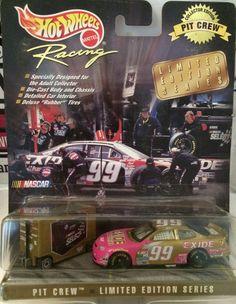 (TAS030211) - Hot Wheels Racing Die-Cast Pit Crew #99 Jeff Burton Nascar