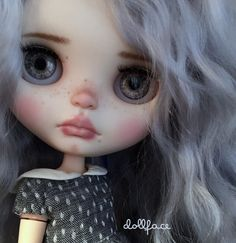 A doll with big sad eyes ~
