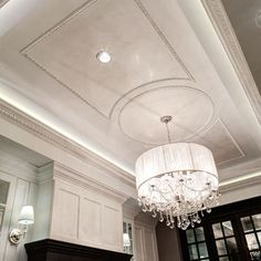 Ceiling molding. Maybe for a dinning room?
