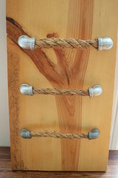 Galvanized Rope Pulls - Right Angle