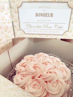 Pink Rossete Cake