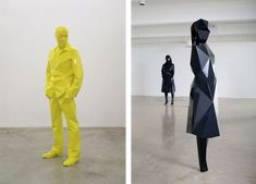 Xavier Veilhan is a French artist. His work includes photography, sculpture, film, painting and installation art. He recently had a collaboration with Ora Ito for the Ma Mo (Centre d'art de l… Xavier Veilhan, French Artists, Best Artist, Installation Art, Sculpture Art, Contemporary Art, Duster Coat, Raincoat, Design Inspiration