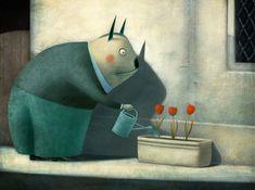 Paolo Domeniconi illustratore : Dimenticanze