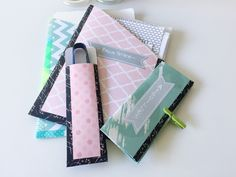 Pochettes diagrammes brick stitch pour set tissage miyuki