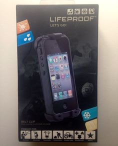 Lifeproof Belt Clip for iPhone 4 4S Case Black New Life Proof #Lifeproof