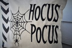 Halloween Pillow Cover Hocus Pocus Pillow Cover by ourTraditions