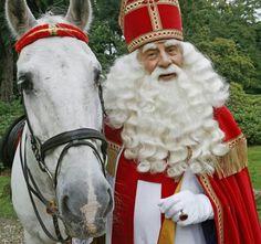 Pakjesavond The Dutch celebrate Pakjesavond on December Father Christmas, Christmas Love, Dyi Decorations, Dutch Netherlands, Santa Suits, Vintage Santas, My Heritage, Sweet Memories, Celebrities